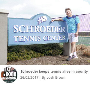 Schroeder Tennis in Tipp City News Article