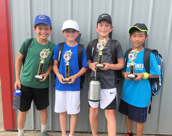 Junior Tennis at Schroeder Tennis Center